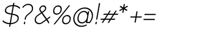 XXII MISANTHROPIA Italic Stupida Font OTHER CHARS