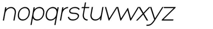 XXII MISANTHROPIA Italic Stupida Font LOWERCASE