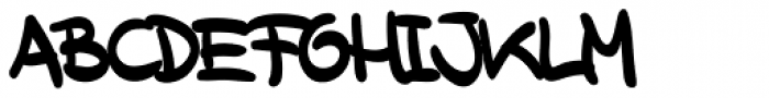 XXII Marker Font UPPERCASE