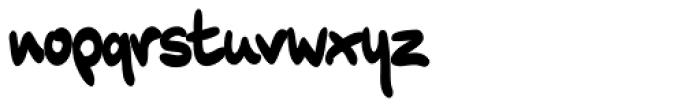XXII Marker Font LOWERCASE