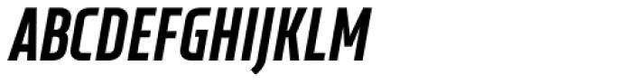 XXII Neue Norm Cnd Black It Font UPPERCASE