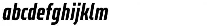 XXII Neue Norm Cnd Black It Font LOWERCASE