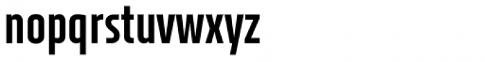 XXII Neue Norm Cnd Extra Bold Font LOWERCASE