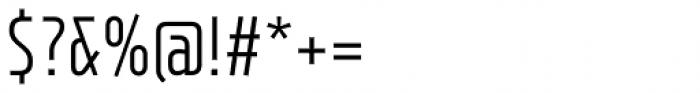 XXII Neue Norm Cnd Regular Font OTHER CHARS