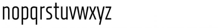 XXII Neue Norm Cnd Regular Font LOWERCASE