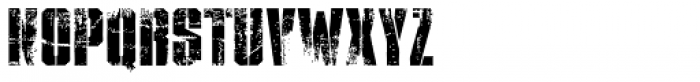XXII STREITKRAFT EINS VERDRECKT Font UPPERCASE