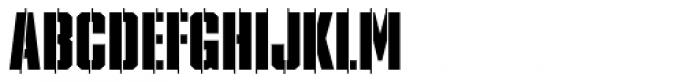 XXII STREITKRAFT ZWEI Font UPPERCASE