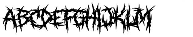 XXII Total Death Font LOWERCASE