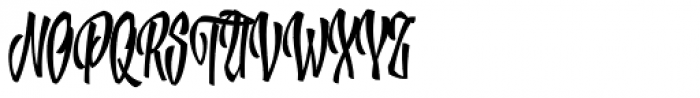 XXII YeahScript Font UPPERCASE