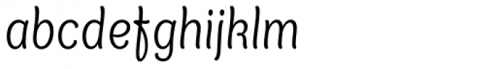 XXII Yonia Light Font LOWERCASE