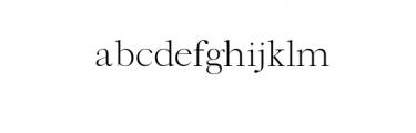 Xylon-Regular.otf Font LOWERCASE