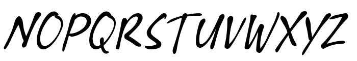 Xyling Font UPPERCASE