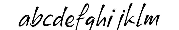 Xyling Font LOWERCASE
