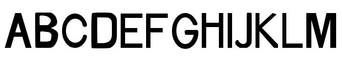 Xylogravura Font UPPERCASE