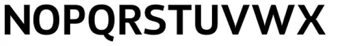 Xyngia Demi Bold Font UPPERCASE