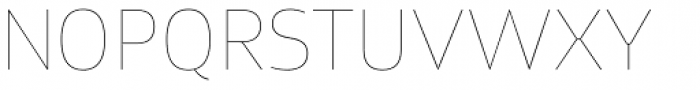 Xyngia Hairline Font UPPERCASE