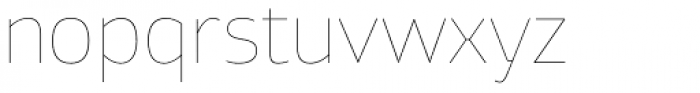 Xyngia Hairline Font LOWERCASE