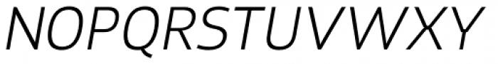 Xyngia Light Italic Font UPPERCASE