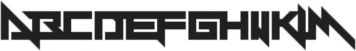 Y-Andermo ttf (400) Font UPPERCASE