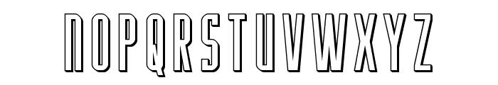 Y-Files 3D Font UPPERCASE