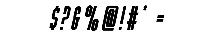 Y-Files Bold Italic Font OTHER CHARS
