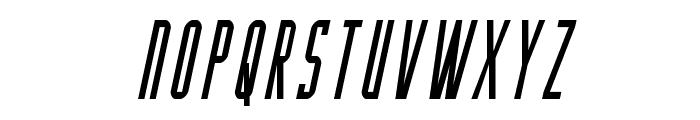 Y-Files Condensed Italic Font UPPERCASE