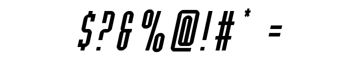 Y-Files Italic Font OTHER CHARS