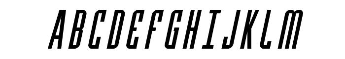 Y-Files Italic Font UPPERCASE