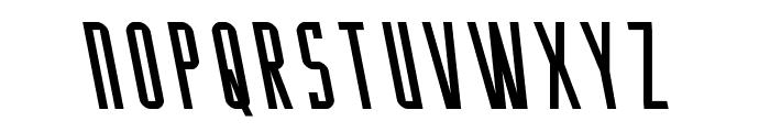 Y-Files Leftalic Font UPPERCASE