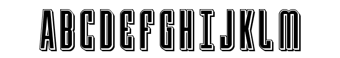Y-Files Punch Font UPPERCASE