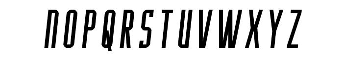 Y-Files Semi-Italic Font UPPERCASE