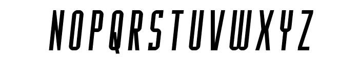 Y-Files Semi-Italic Font LOWERCASE