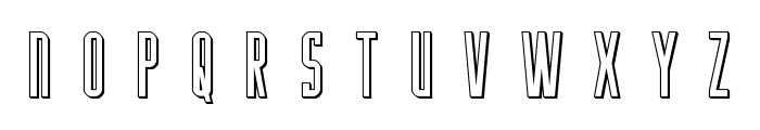 Y-Files Title 3D Font UPPERCASE