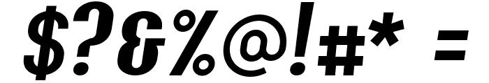 Y2K Analog Legacy Italic Font OTHER CHARS