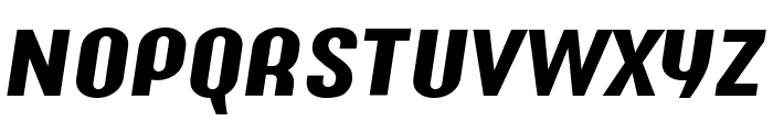 Y2K Analog Legacy Italic Font UPPERCASE