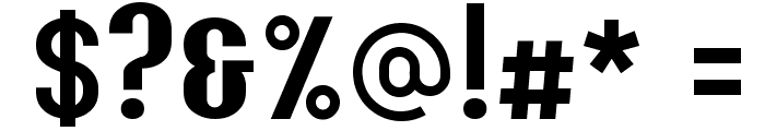 Y2K Analog Legacy Font OTHER CHARS