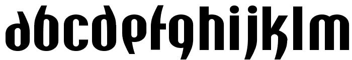 Y2K Analog Legacy Font LOWERCASE