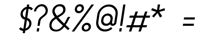 Y2K Neophyte Italic Font OTHER CHARS