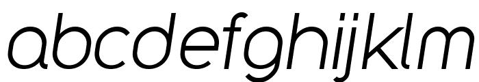 Y2K Neophyte Italic Font LOWERCASE