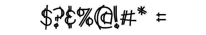 Y2K PopMuzik AOE Font OTHER CHARS