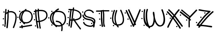 Y2K PopMuzik AOE Font LOWERCASE