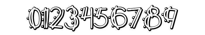 Y2K PopMuzik Outline AOE Font OTHER CHARS