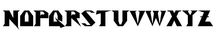 Y2Kill Font UPPERCASE