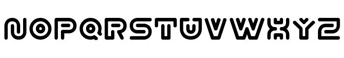Y2k Subterran Express KG Font UPPERCASE