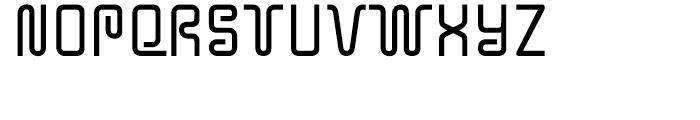 Y2K Bug Regular Font LOWERCASE