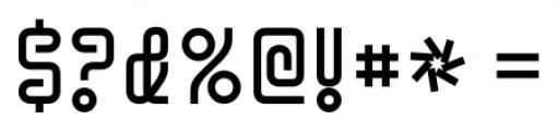 Y2KBug Regular Font OTHER CHARS