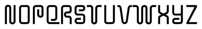 Y2KBug Regular Font UPPERCASE