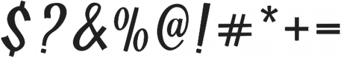 Yackien otf (400) Font OTHER CHARS