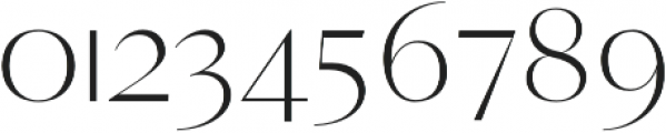Yadon Light otf (300) Font OTHER CHARS