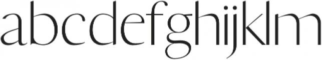 Yadon Light otf (300) Font LOWERCASE